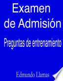 Examen de AdmisiÃ3n