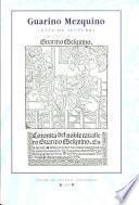 Guarino Mezquino (Sevilla, Juan de Varela, 1527)
