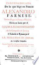 Guerras de Flandes desde la muerte de Carlos V hasta el gobierno de Alejandro Farmese