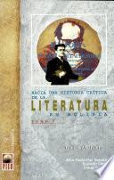 Hacia una historia crítica de la literatura en Bolivia: without special title
