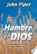 Hambre De Dios/ Hunger of God
