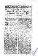 Historia general de Santo Domingo y de su Orden de Predicadores