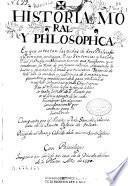 Historia moral y philosophica en que se tratan las vidas de doze philosophos y principes antiguos y sus sentencias y hazañas ...