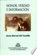 Honor, verdad e información