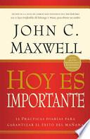 Hoy Es Importante = Today Matters