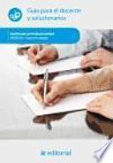 Impresión digital : guía para el docente y solucionarios
