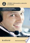 Información y Atención al Visitante. HOTI0108
