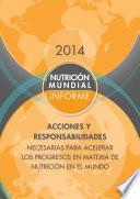 Informe de la nutrición mundial 2014