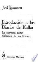 Introducción a los Diarios de Kafka