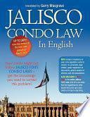 Jalisco Condo Law in English