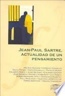 Jean-Paul Sartre, Actualidad de Un Pensamiento