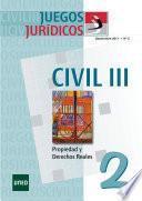Juegos jurídicos. Derecho civil III