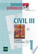 JUEGOS JURÍDICOS. DERECHO CIVIL III No 1