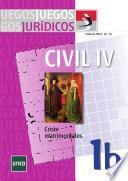 Juegos jurídicos. Derecho civil IV: crisis matrimoniales 1b