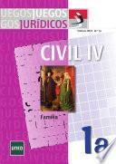 Juegos jurídicos. Derecho civil IV: Familia no 1A