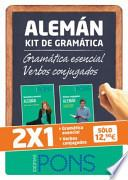 Kit de gramática ALEMÁN. Gramática esencial + Verbos conjugados