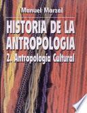 La antropología cultural