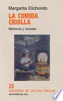 La comida criolla