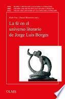 La fe en el universo literario de Jorge Luis Borges