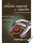 La Relación Especial de Sujeción - Estudios