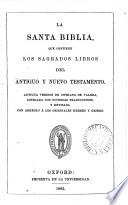 La santa Biblia, antigua version de C. de Valera, revisada