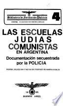 Las Escuelas judías comunistas en Argentina