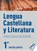 Lengua castellana y Literatura 1o Bachillerato
