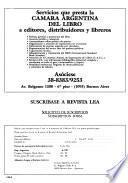 Libros de edición argentina