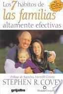 Los 7 Habitos De Las Familias Altamente Efectivas / The 7 Habits Of Highly Effective Families