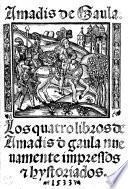 Los Quatro libros de Amadís de Gaula