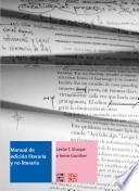 Manual de edición literaria y no literaria
