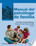 Manual del psicólogo de familia