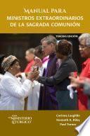 Manual para ministros extraordinarios de la Sagrada Comunión