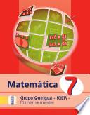 Matematica Quiriguá 7 Primer Semestre