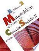 Matemáticas aplicadas a las ciencias sociales, 2 Bachillerato