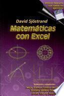Matemáticas con Excel