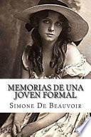 Memorias De Una Joven Formal