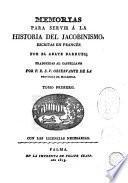 Memorias para servir a la historia del jacobinismo, 1