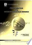 Metodos Analiticos Para Ecuaciones Diferenciales Ordinarias