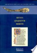 Mvnvs Qvaesitvm Meritis. Homenaje a Carmen Codoñer