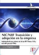 NIC/NIIF transición y adopción en la empresa