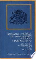 Normativa general de instalaciones publicas y domiciliarias