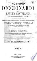Novisimo diccionario de la lengua castellana