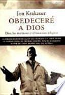 Obedeceré a Dios