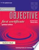 Objective First Certificate + 100 Tips Writing Booklet