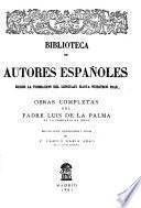 Obras completas del Padre Luis de la Palma