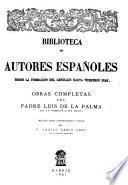 Obras completas. Recopilacion, introd. y notas del P. Camilo Maria Abad