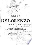 Obras de Lorenzo Gracián