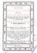 Libro primero \-tercero! mystica exposicion de la Salve Regina que por mandado de sus prelados, ... dexò escrita de su mano la venerable madre Hipolita de Iesus, y Rocaberti. Sale a luz de orden de su sobrino, ... don fray Iuan Thomas de Rocaberti, ..