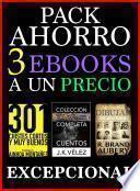 Pack Ahorro, 3 ebooks